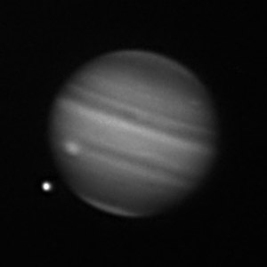 Jupiter im Methanband